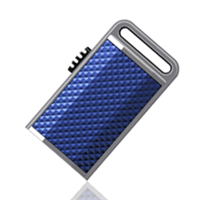 - A-DATA S701 Sporty 4GB blue USB2.0