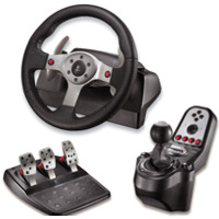 - Volant LOGITECH G25 Racing Wheel